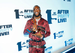 Burna Boy Afro Hit Man - Africa Music Beat Shop